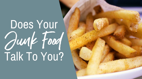 Does your junk food talk to you?