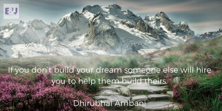 Motivational Quotes for Success Dhirubhai Ambani