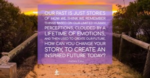 Meme - Our past is just stories - Page