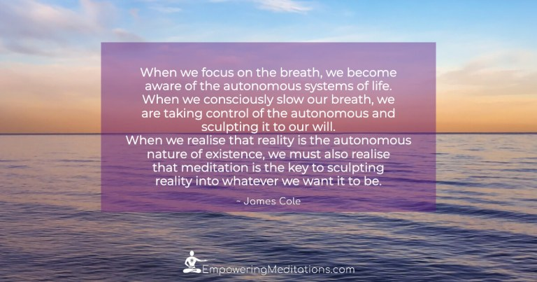 When we focus on the breath - Page