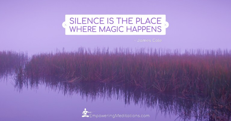 Meme - Silence is the place where magic happens - Page