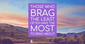 Meme - Those who brag the least - Page