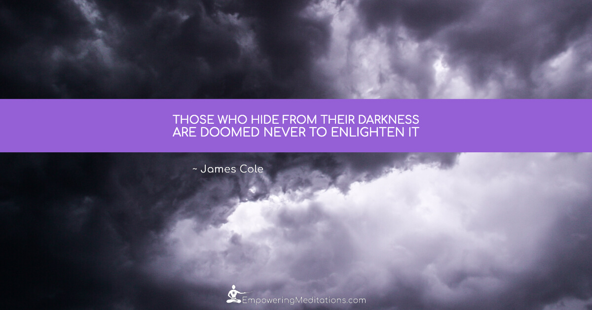 Meme - Those who hide from their darkness - Page
