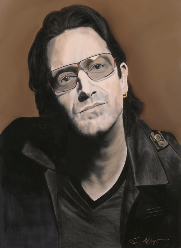 "Bono 11"" x 15"""
