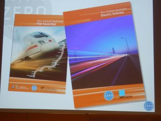 BZE has written two plans in how to electrify Australia's transport sector, and power it with renewable energy.