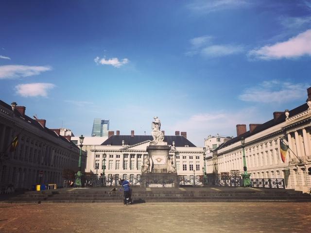 La beauté de Bruxelles - Place des Martyrs