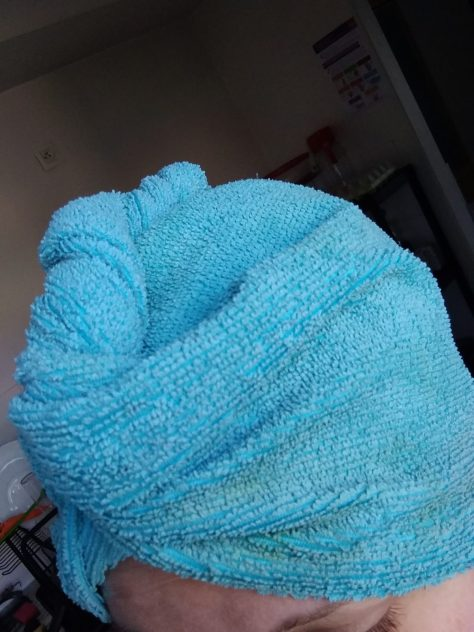 serviette pour henné
