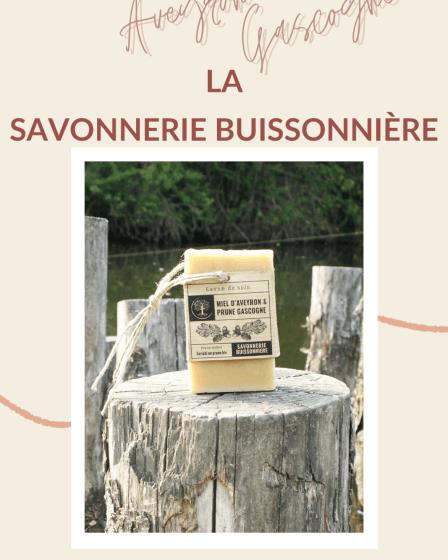 Le Savon Miel & Prune De La Savonnerie Buissonnière