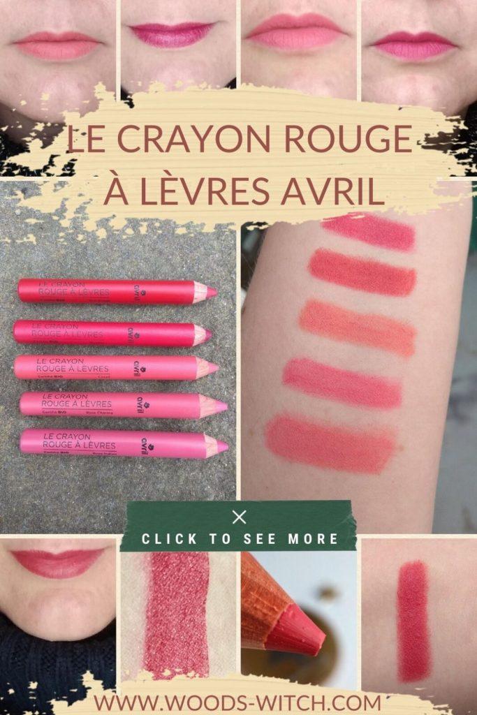 Le crayon rouge à lèvres Avril