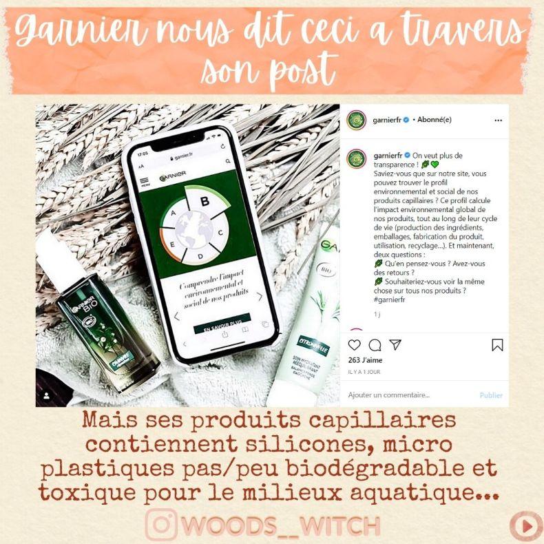 post instagram Garnier