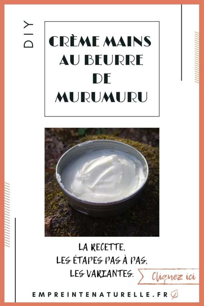 gabarit pinterest creme au beurre de murumuru plus