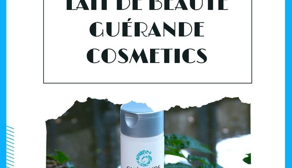 lait de beauté corps Guérande Cosmetics
