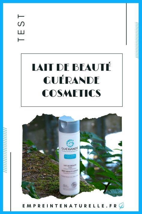Lait de beauté Guérande Cosmetics