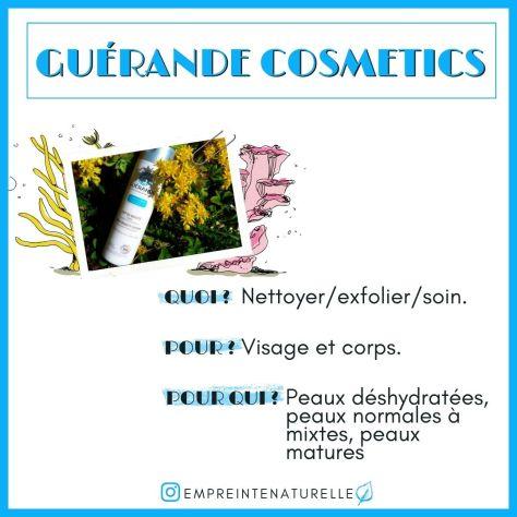 a qui s'adresse Guerande cosmetics