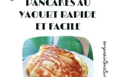 pancakes au yaourt rapide et facile