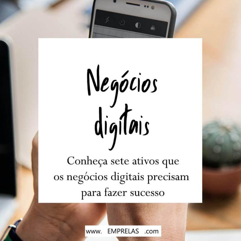 Os 7 ativos de um negócio digital