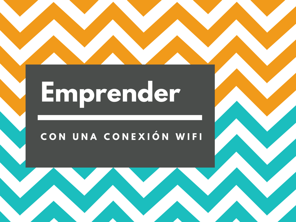 Emprender con una conexíón wifi