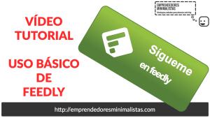 RSS Feedly tutorial español 2016
