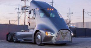 ET-One, el camión semi eléctrico