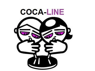 """""""COCA-LINE"""". La primera APP que pone en contacto a consumidores para compartir COCA. (1/4)"""