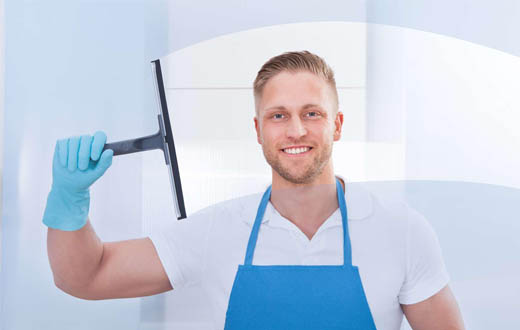 conserje limpiador madrid