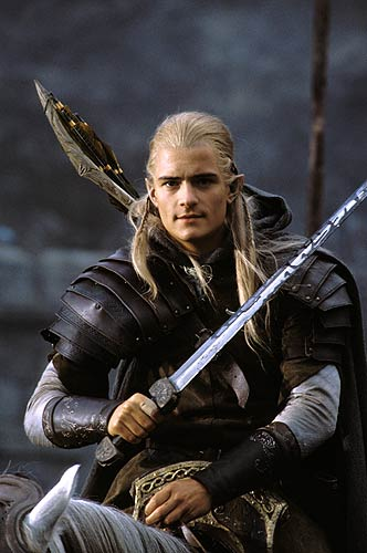 legolas, helms deep, elves
