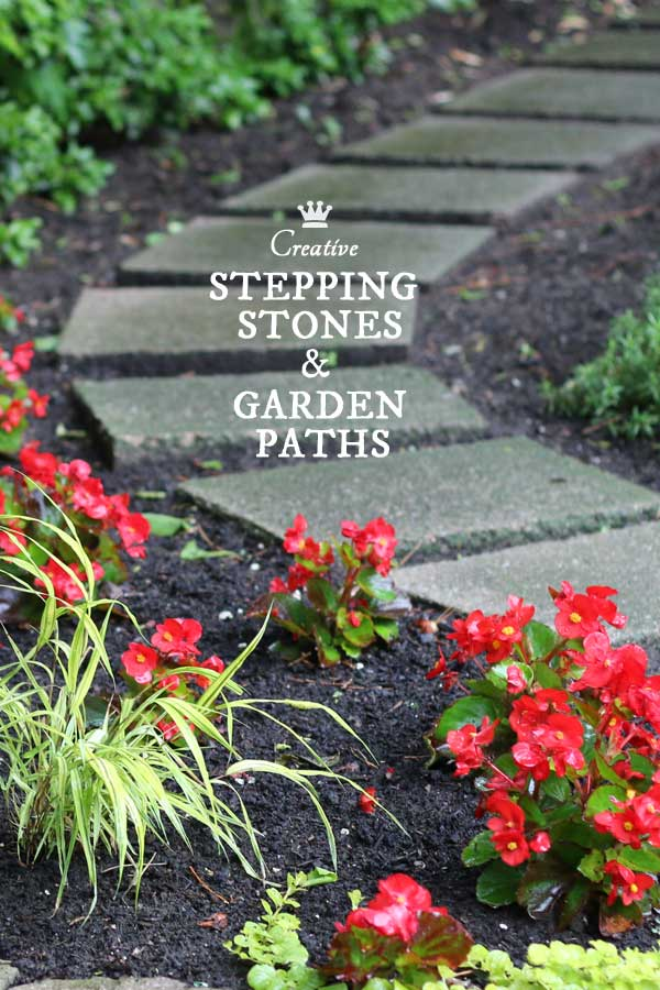 12 Stepping Stone & Garden Path Ideas - Empress of Dirt on Stepping Stone Patio Ideas  id=34485