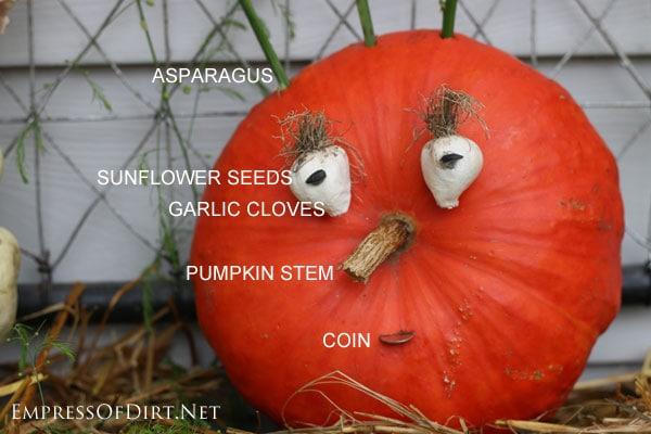 Painting Creative Pumpkin Faces Decorating Ideas