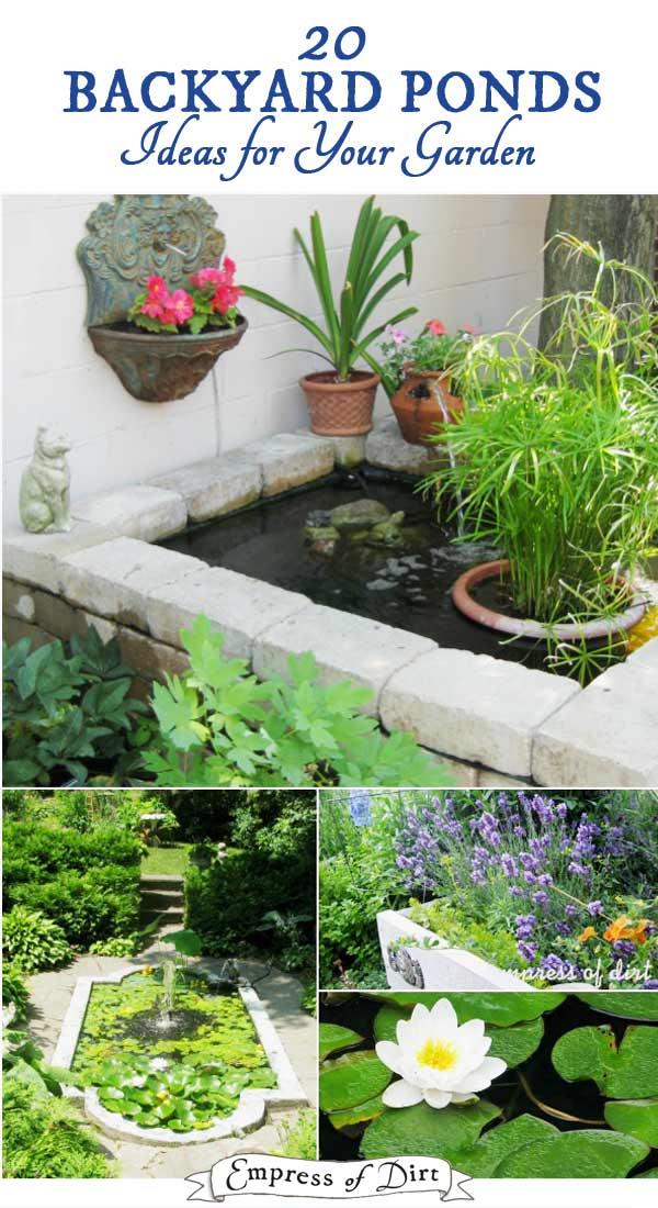 17+ Beautiful Backyard Pond Ideas For All Budgets ... on Pond Ideas Backyard id=62672