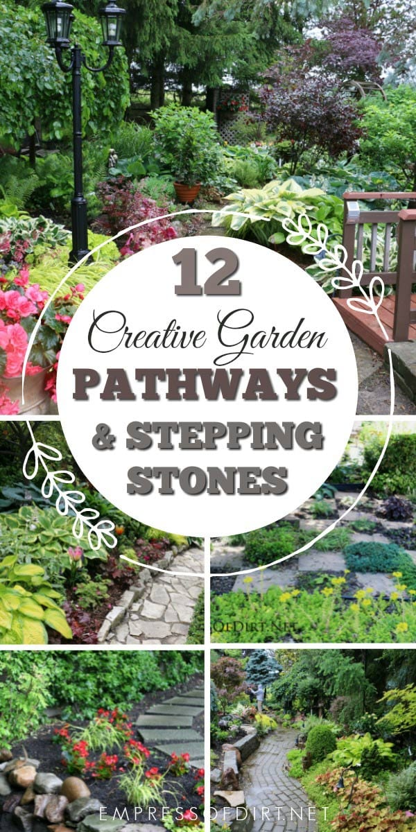 12 Stepping Stone & Garden Path Ideas | Empress of Dirt on Stepping Stone Patio Ideas  id=18319