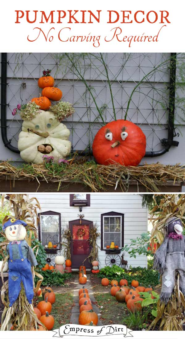 5 Wicked No Carve Pumpkin Decorating Ideas At Bunch Family