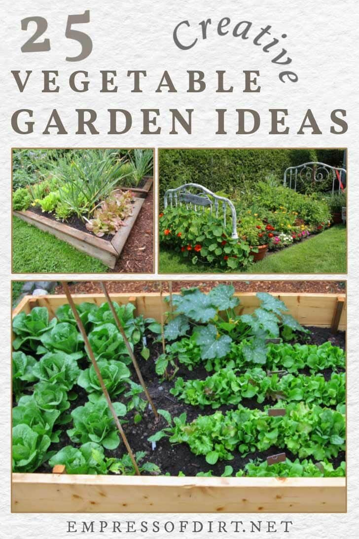 25 Vegetable Garden Ideas For Any Size Space
