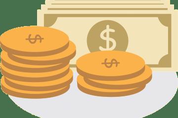 dinheiro simbolizando a portabilidade de crédito