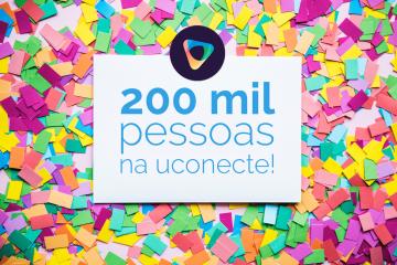 200 mil pessoas na uConecte