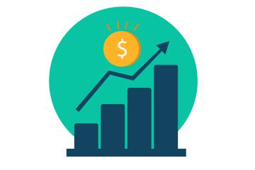 salário mínimo - gráfico representando o novo aumento