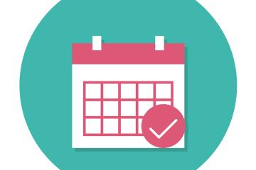 calendário simbolizando o prazo máximo do empréstimo consignado
