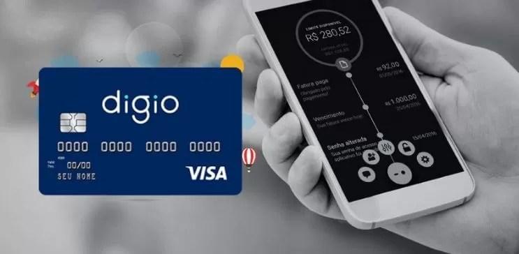 Cartão de crédito sem anuidade Digio
