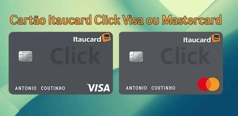 novos cartões de crédito
