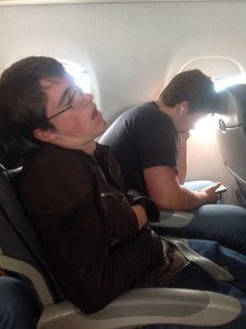 travel, sleep on the plane, nap, catching some zzz's