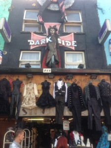goth store at the Camden Market
