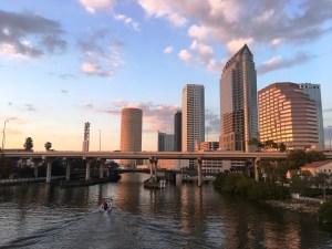 Tampa, Florida, River Walk, Boardwalk, Waterway, boats, bay, canal, river