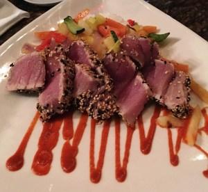 tampa, florida, riverwalk, boardwalk, jacksons bistro, tuna tartar, restaurant, bistro, healthy eating