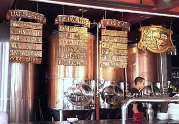 a picture of Los Muertos Copper fermentors