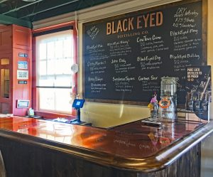 Black Eyed Vodka Texas tasting room