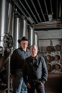 Black Eyed Distillery Owners Todd Gregory and Scott Billings, vodka distillers