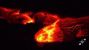 Big Island Hawaii molten lava