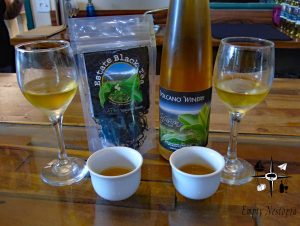 Volcano Winery tea infused honey wine