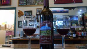Volcano Winery red wine
