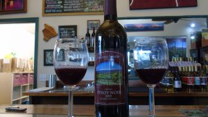 Volcano Winery red wine