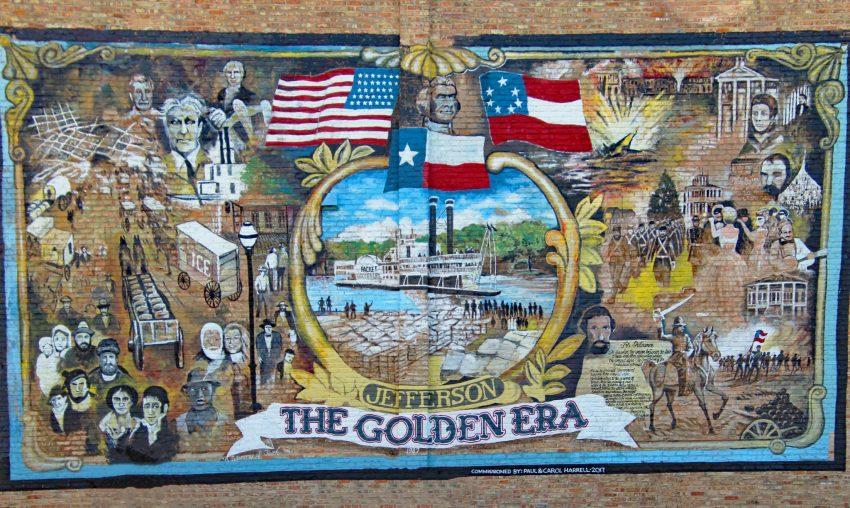 Jefferson Texas historic mural